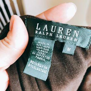 Ralph Lauren Tops - Ralph Lauren Lace Contrast Jersey Tank Top